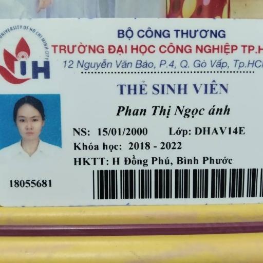 Phan Thị Ngọc Ánh